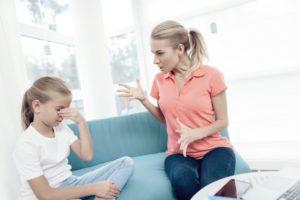 Трудные взаимоотношения с матерью