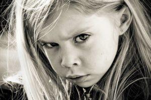 Ребенок обижен